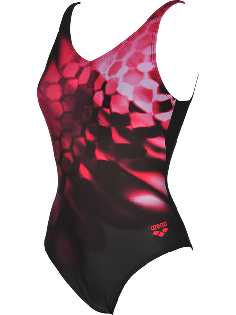 arena Plumage B One Piece Swimsuit Women black